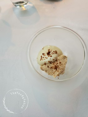 Sunflower seed mousse